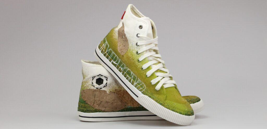 Nuove sneaker Moaconcept realizzate da Manu Invisible per Pitti Uomo 2021