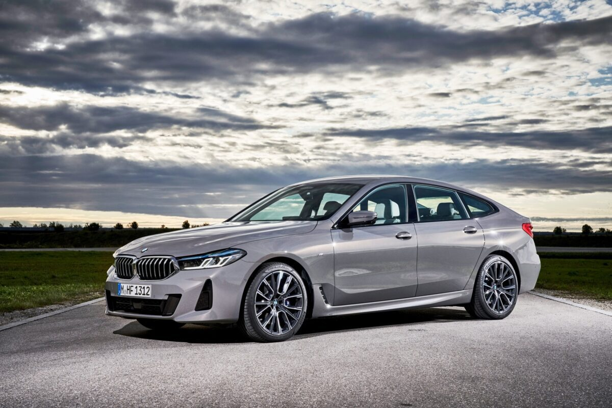 La nuova BMW 640i xDrive Gran Turismo, Bernina grey amber effect
