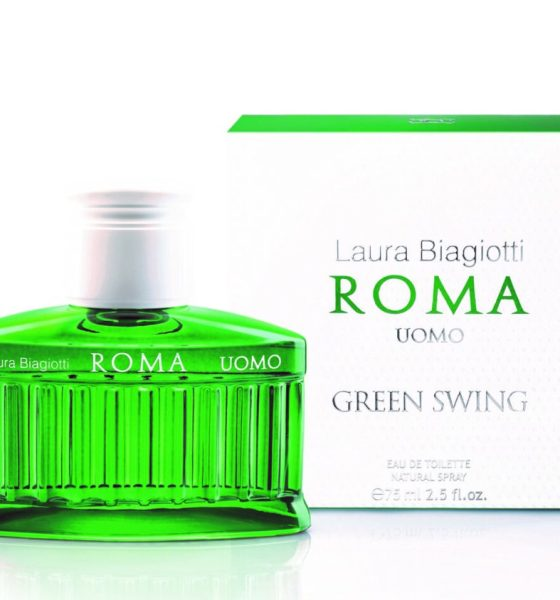 Nuovo profumo uomo Laura Biagiotti Roma Green Swing