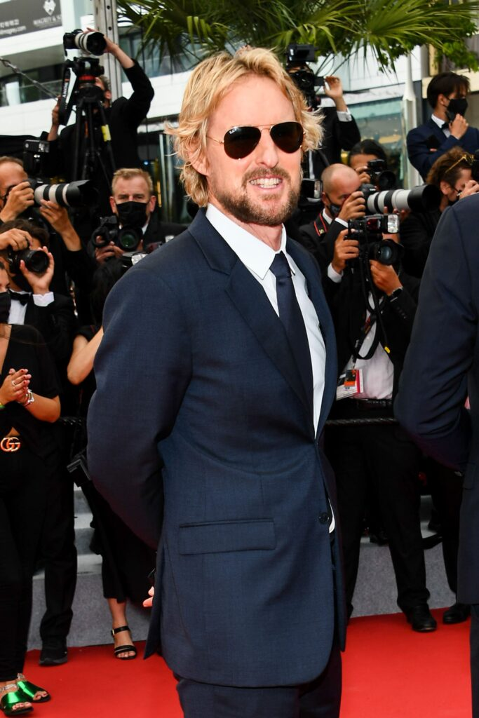 Owen Wilson indossa occhiali indossa occhiali Ray-Ban Aviator