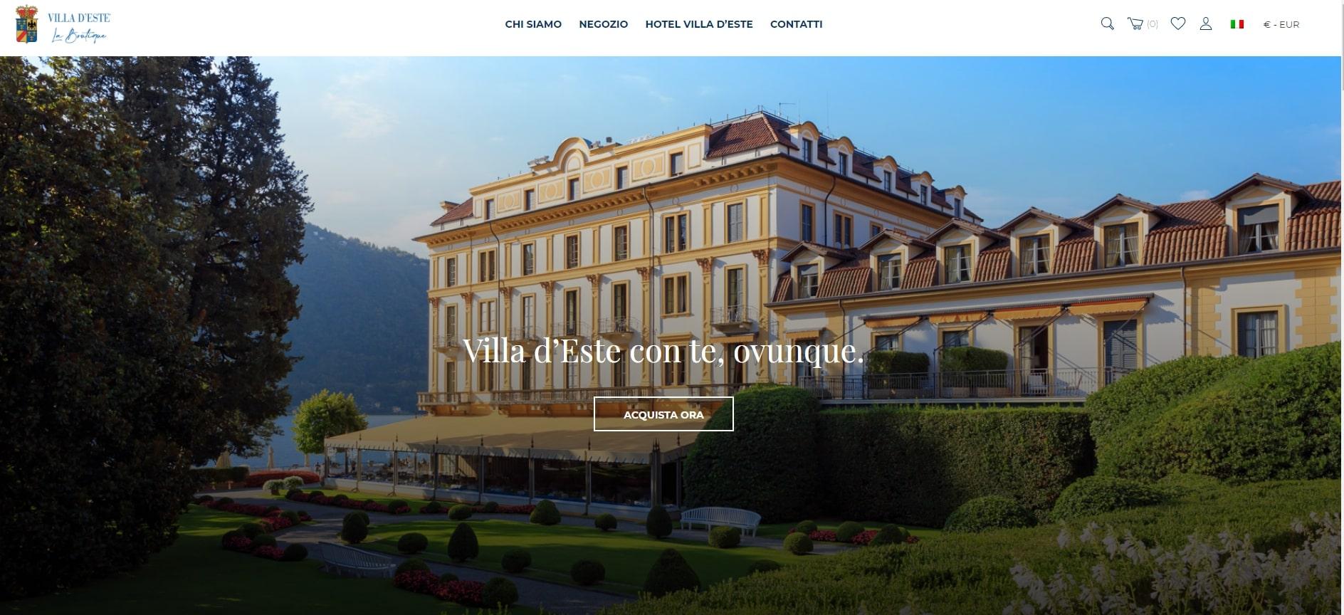 Villa-dEste-Homepage-sito-ecommerce-
