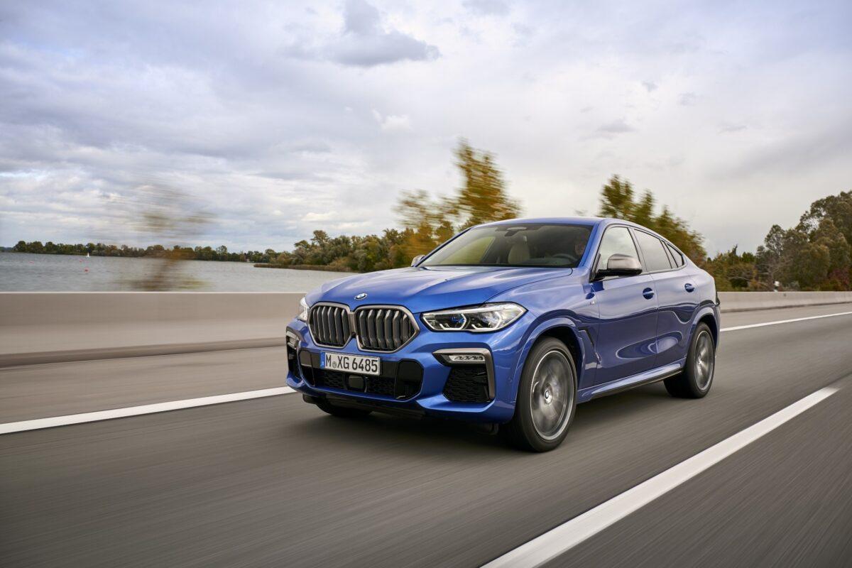 la nuova BMW X6 M50i