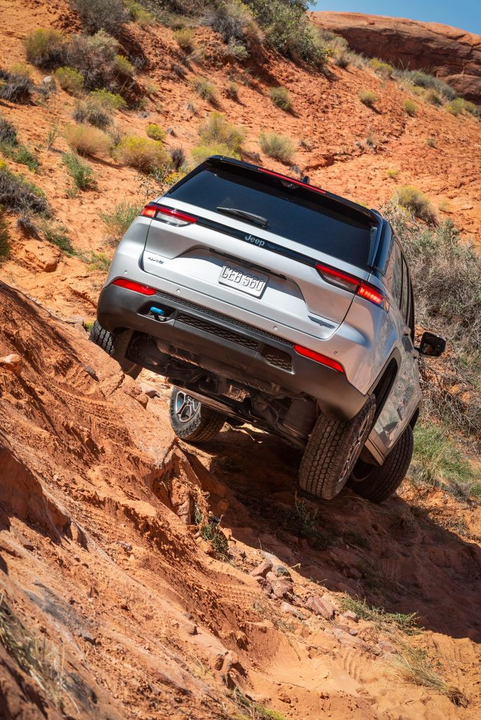 All-new 2022 Jeep® Grand Cherokee Trailhawk 4xe-