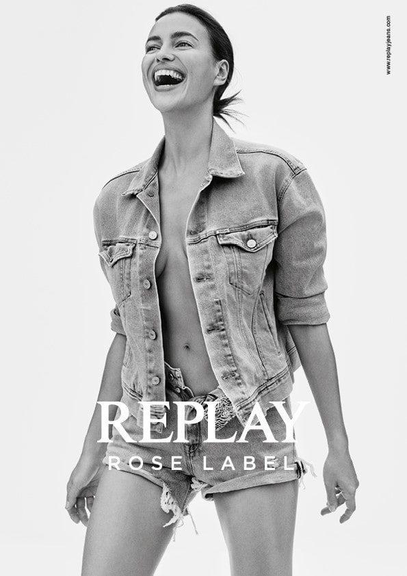 Irina Shayk X Replay denim capsule Master RoseLLabel