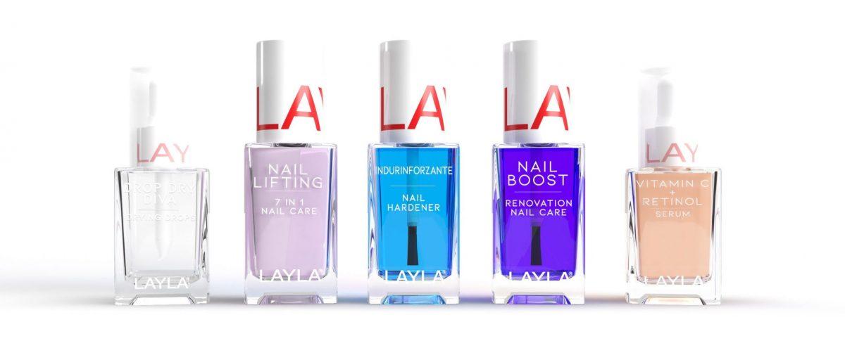Smalti per unghie curativi ILoveNails Layla Cosmetics-