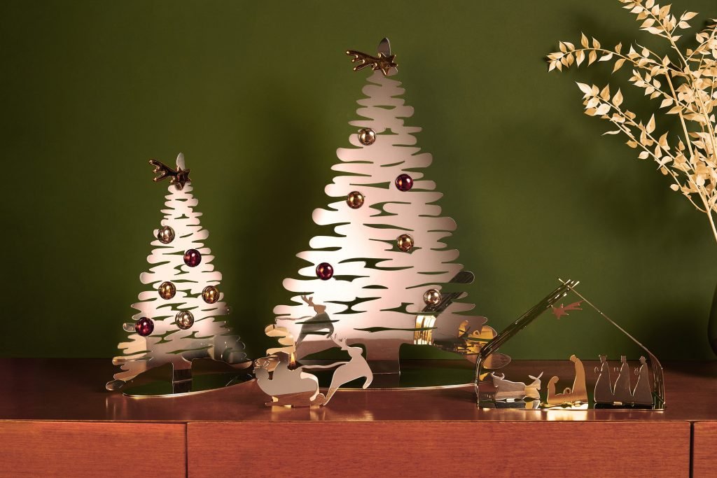 ALESSI FW21 BARK FOR CHRISTMAS. Design Michel Boucquillon and Donia Maaoui