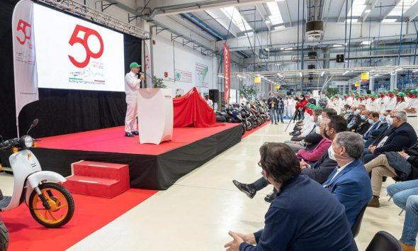 Honda Italia Industriale Spa 50° anniversario