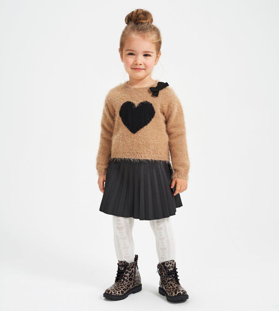 Maglione Tricot bambina iDO FW21-