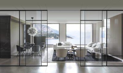 Nuove porte in vetro VIVA modello Bellagio