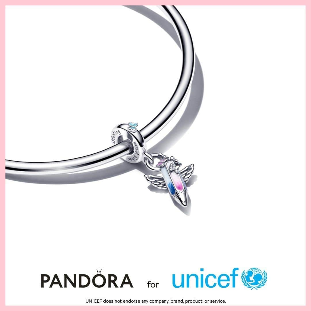 Nuovo charm Pandora X UNICEF