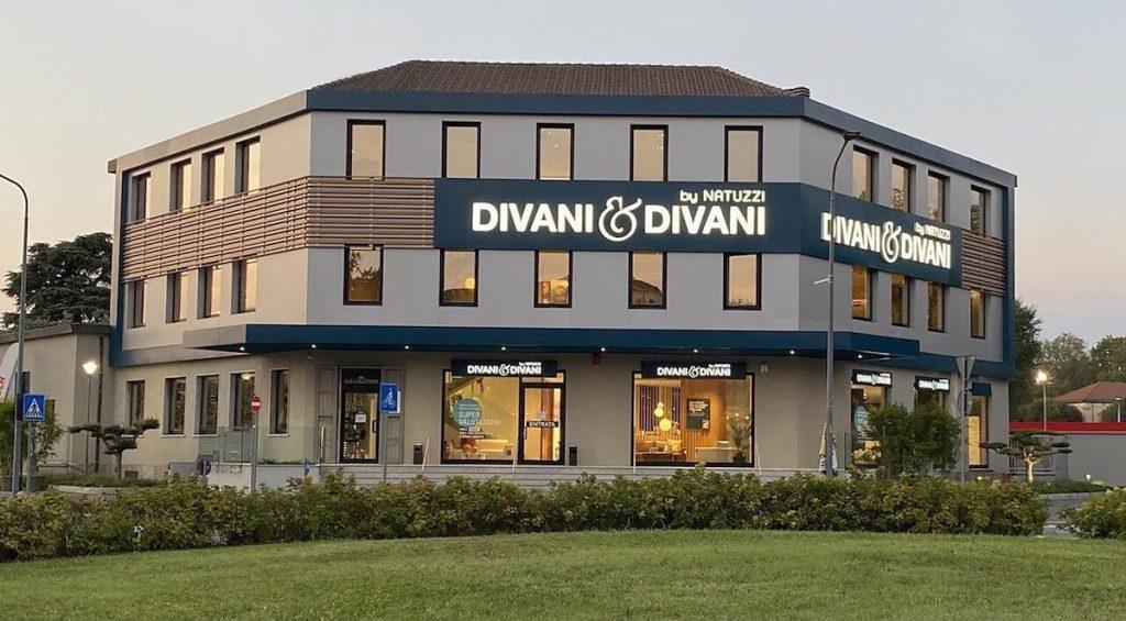 Nuovo negozio Divani & Divani Milano Zona Portello-