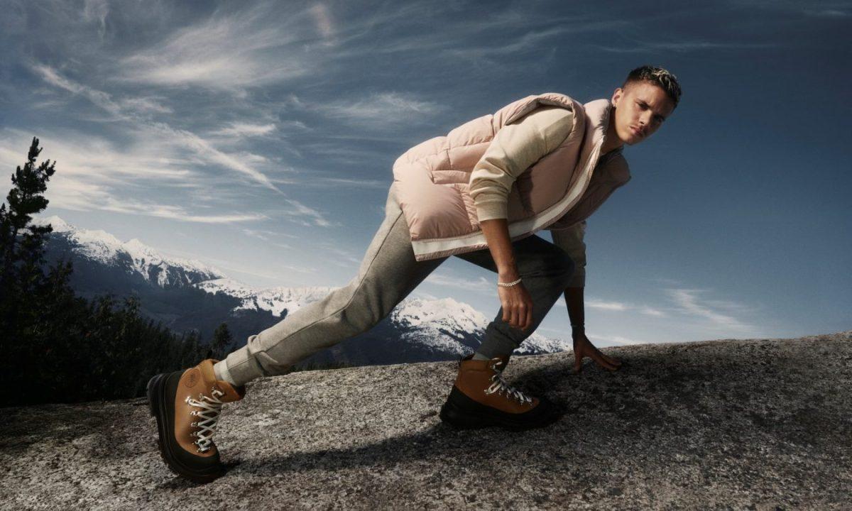 Romeo Beckham per Canada Goose calzature AI 2021-22-