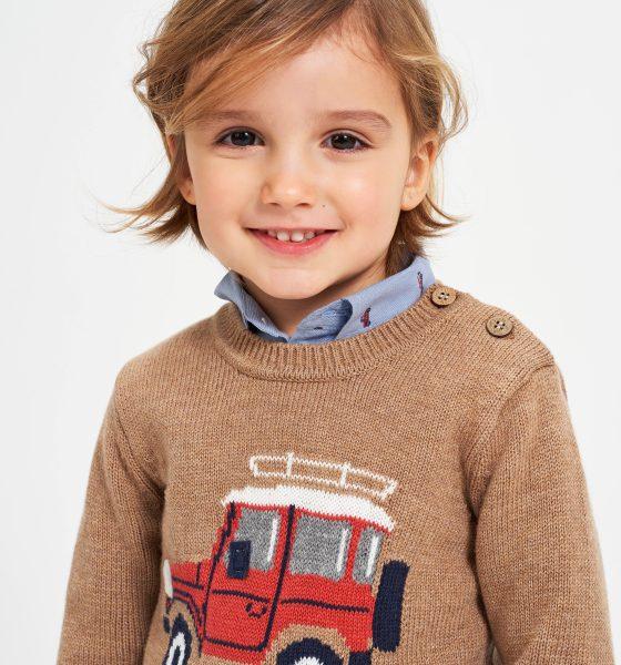 maglione tricot bambino iDO FW21_Warm December